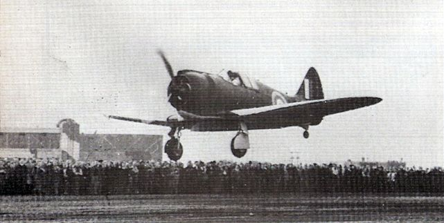 Boomerang maiden flight 1942