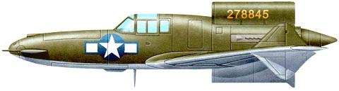 Curtiss xp 55 profile
