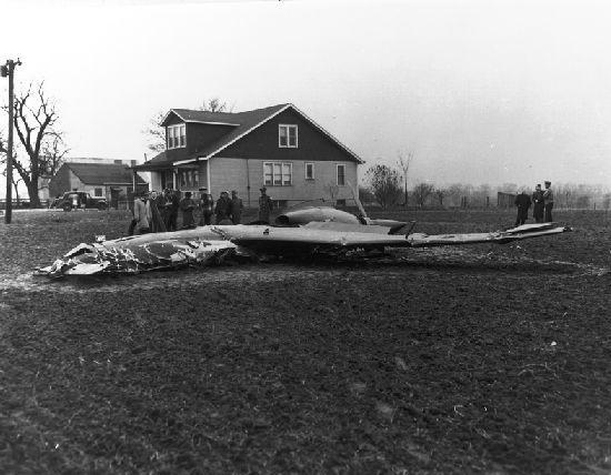Curtiss xp 55 prototype crash