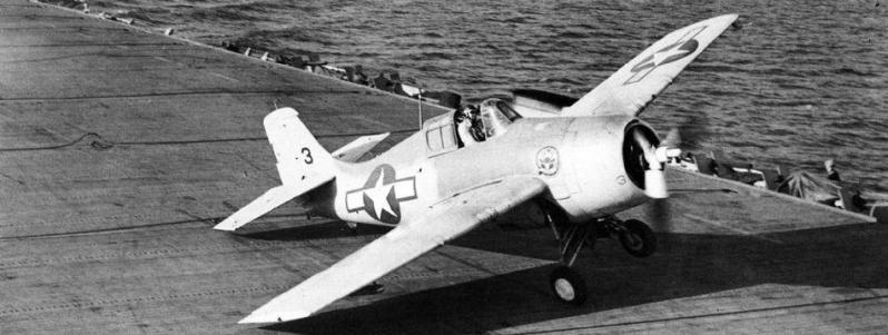 Eastern aircraft fm 1 vc 12 uss core cve 13