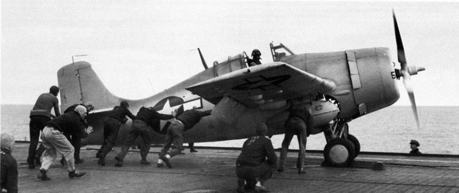 Eastern aircraft fm 1 vgf 29 uss santee cve 29