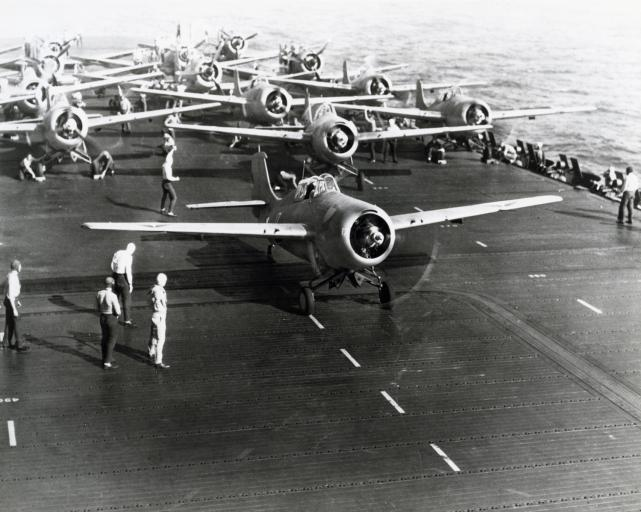 F4f uss enterprise may 1942