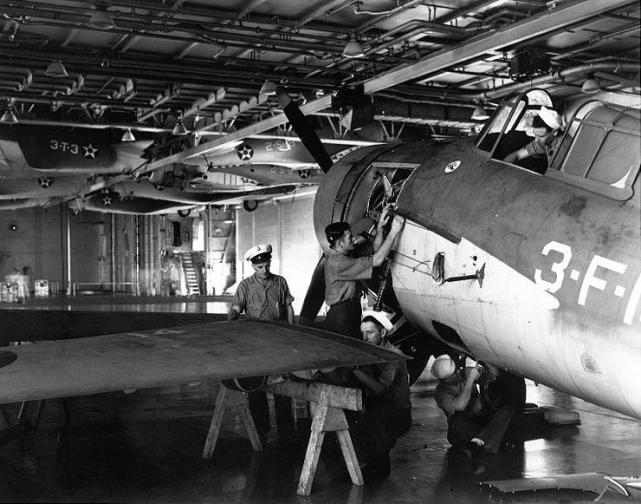 F4f wildcat uss enterprise