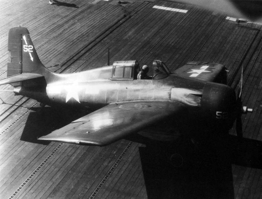 Fm 2 vc 27 uss savo island cve 78 1945