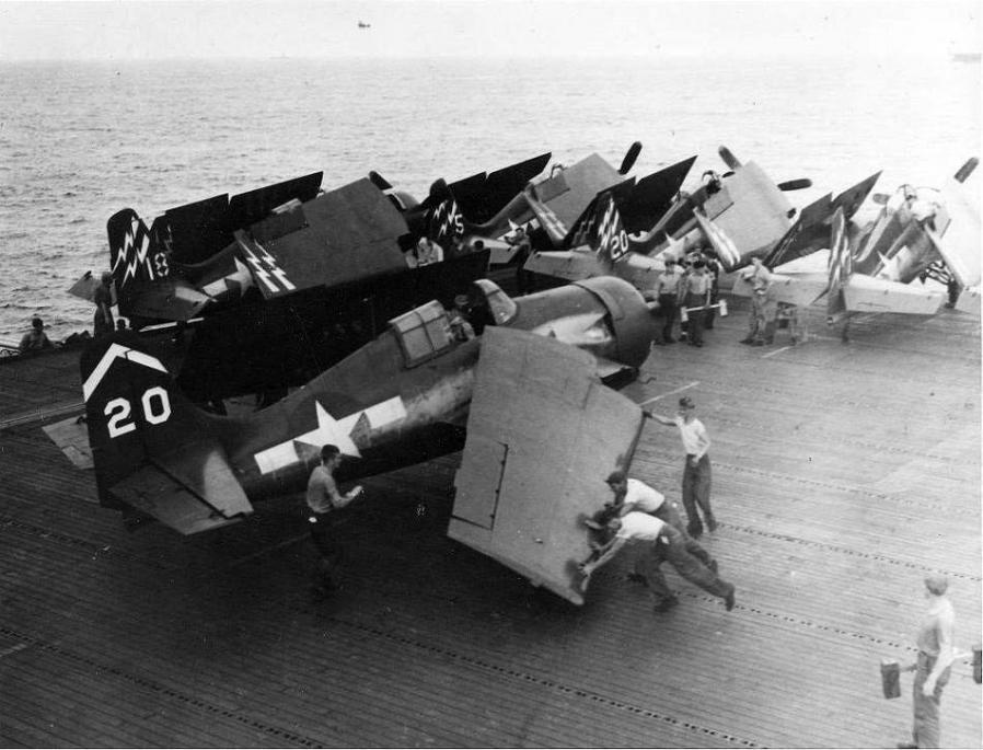 Fm 2 wildcat transient from uss manila bay cve 61 to uss hoggatt bay cve 75 vc 71 c 1945