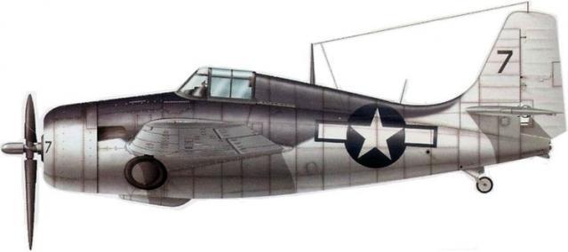 General motors fm 2 vc 8 uss guadalcanal juin 1944