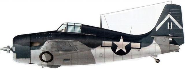 General motors fm 2 vc 80 uss manila bay leyte 1944