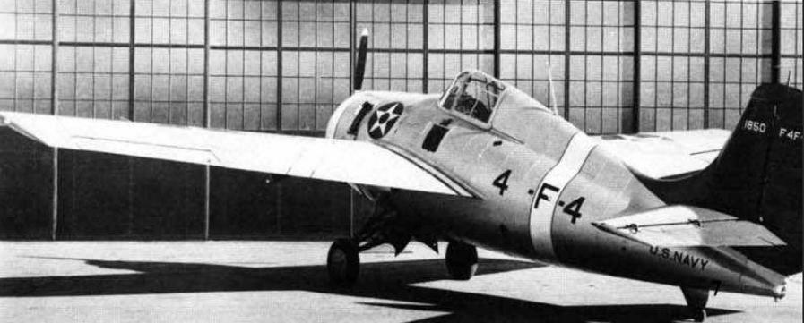 Grumman f4f 3 bu no 1850 assigned to vf 41 aboard uss ranger us national archives