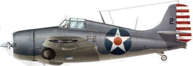 Grumman f4f 3 buaer 2531 elbert s mccuskey