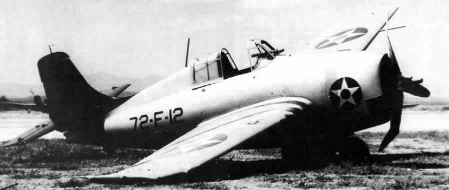 Grumman f4f 3 of vf 72 guantanamo bay cuba 25th february 1941