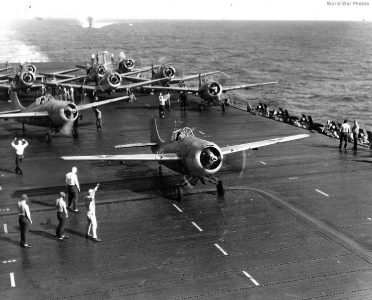 Grumman f4f 3 vf 2 uss enterprise cv 6 12 may 1942 national archives