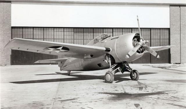 Grumman f4f 3 wildcat buno 1844