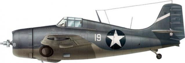 Grumman f4f 4 buaer 03417 stanley w vejtasa vf 10 uss enterprise