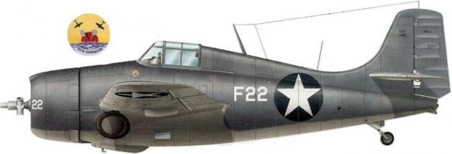 Grumman f4f 4 buaer 03430 lt vernon e graham vf 11 guadalcanal 1943