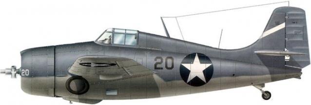 Grumman f4f 4 buaer 5075 donald e runyon