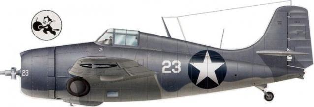 Grumman f4f 4 buaer 5093 john s thach