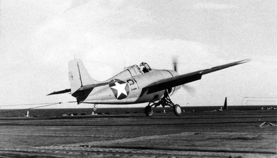 Grumman f4f 4 landing on uss ranger 2