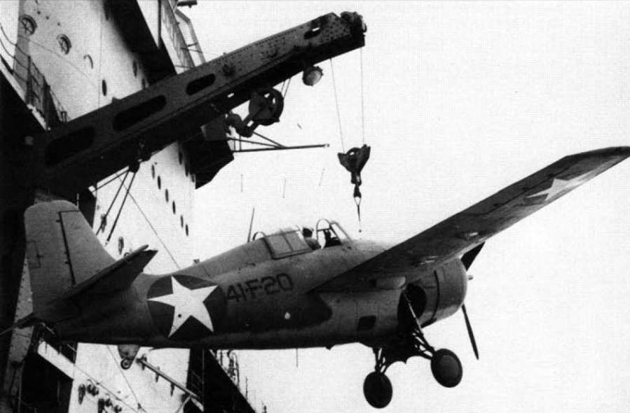 Grumman f4f 4 vf 41 uss ranger cv 4 august 1942 national archives