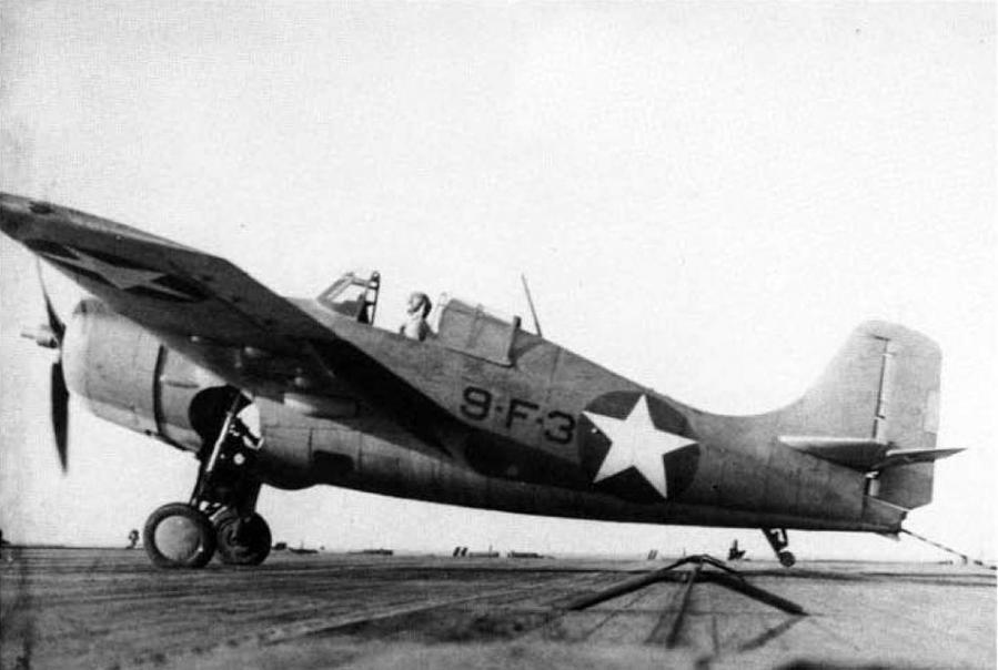 Grumman f4f 4 vf 9 uss ranger cv 4 22 october 1942
