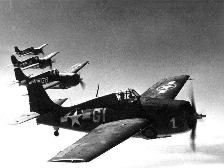 Grumman f4f 4 wildcat trainer cherry point ca usa 1943