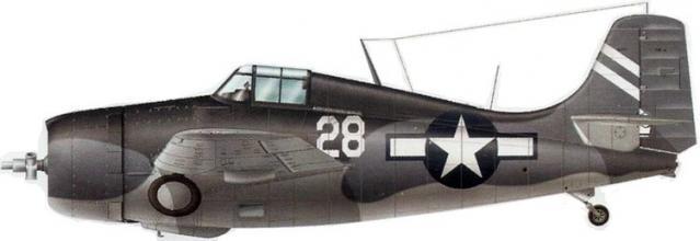 Grumman f4f 4 wildcat vc 39 cve 56 uss liscome bay
