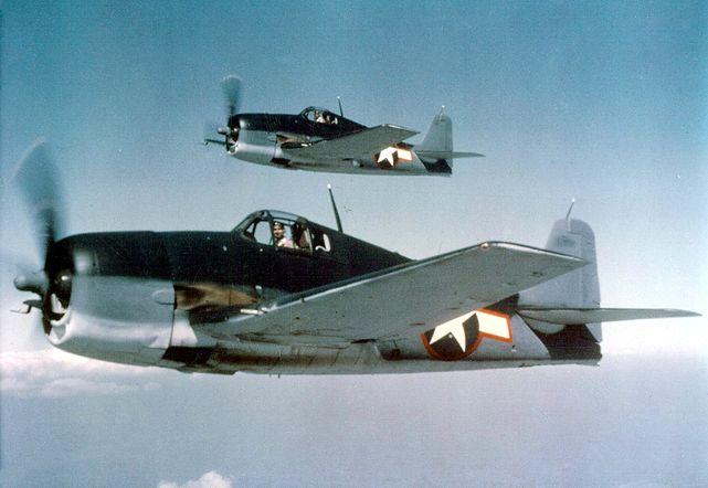 Grumman f6f hellcats 1943