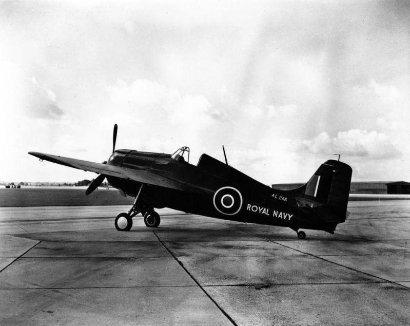 Grumman martlet i al246 fleet air arm museum