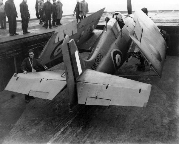 Grumman martlet ii am968 881 squadron hms illustrious 1942