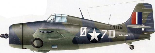 Grumman martlet iv fn112 888 squadron hms formidable