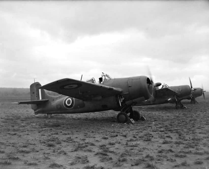 Grumman martlet mk ii aj132 from no 881 squadron faa