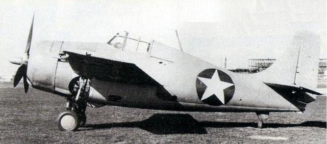Grumman wildcat xf4f 3