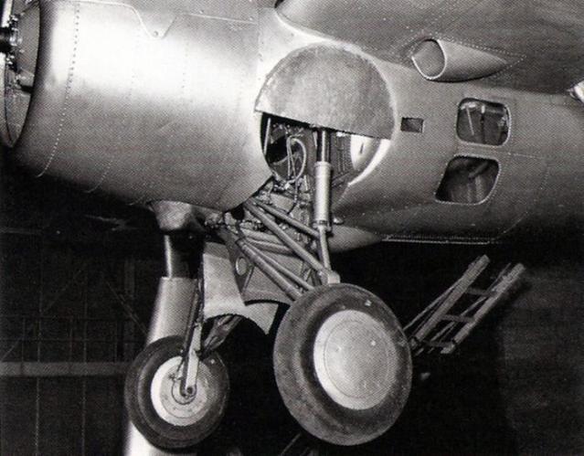 Grumman xf4f 2 landing gear