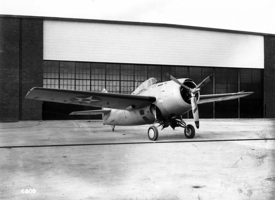 Grumman xf4f 3 wildcat bu no 0383 grumman aircraft engineering corporation bethpage