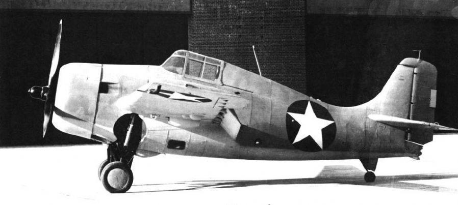 Grumman xf4f 8 buno 12228 bethpage 12 november 1943
