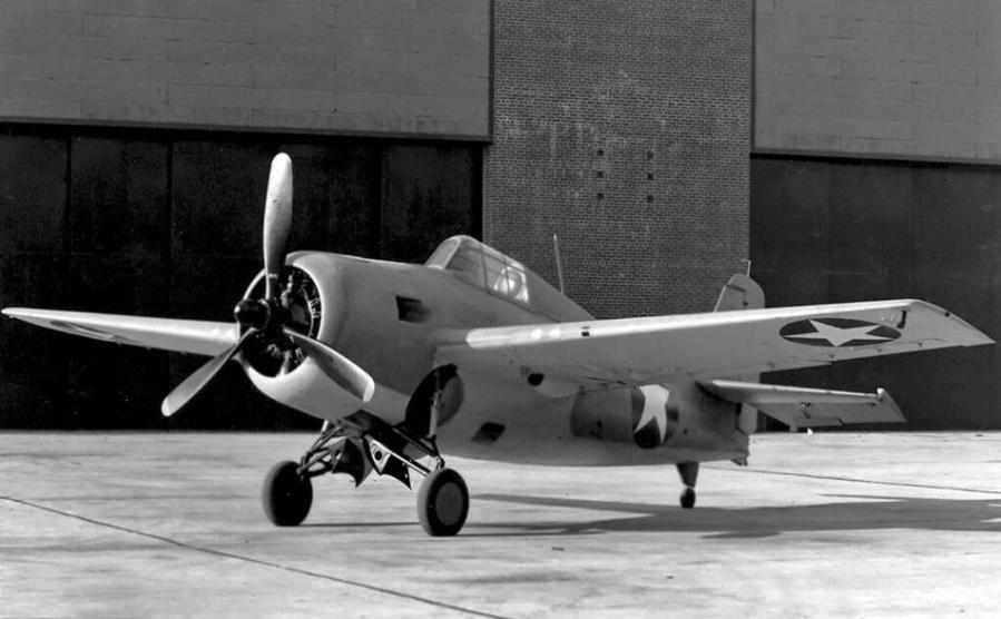 Grumman xf4f 8 wildcat buno 12228 grumman aircraft engineering corporation bethpage