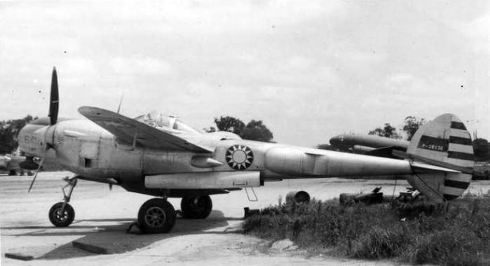 Lightning p 38 republic of china air force b