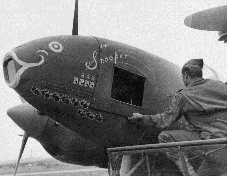 Lockheed f 5 lightning super snooper