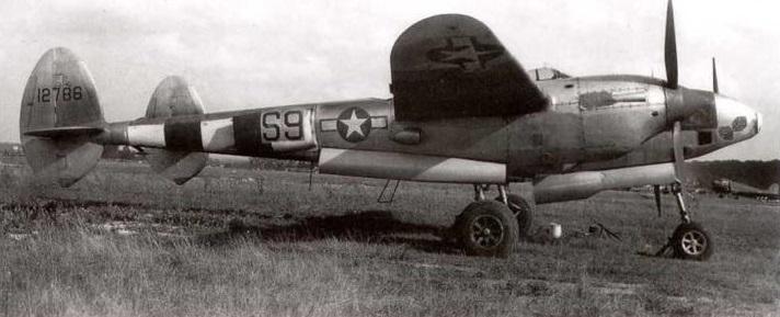 Lockheed f 5a 3 lo 42 12786 34th prs 10th pg dicer