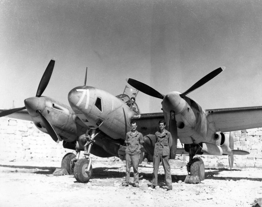 Lockheed f 5a lighntning 90th reconnaissance group iwm fre 10099