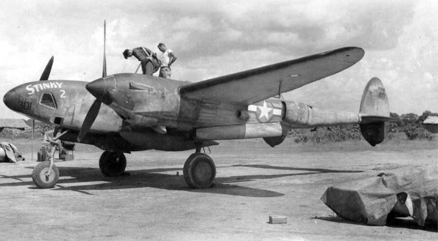 Lockheed f 5a lightning stinky 2