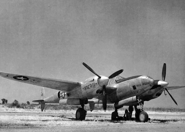 Lockheed f 5a rose marie timber