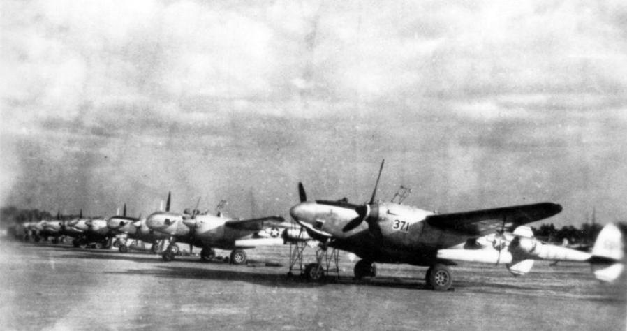 Lockheed f 5f and f 5g 8th prs chofu japan 1945 sdasm