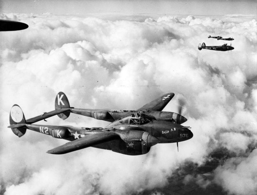 Lockheed lightning p 38j 364th fg fre010101