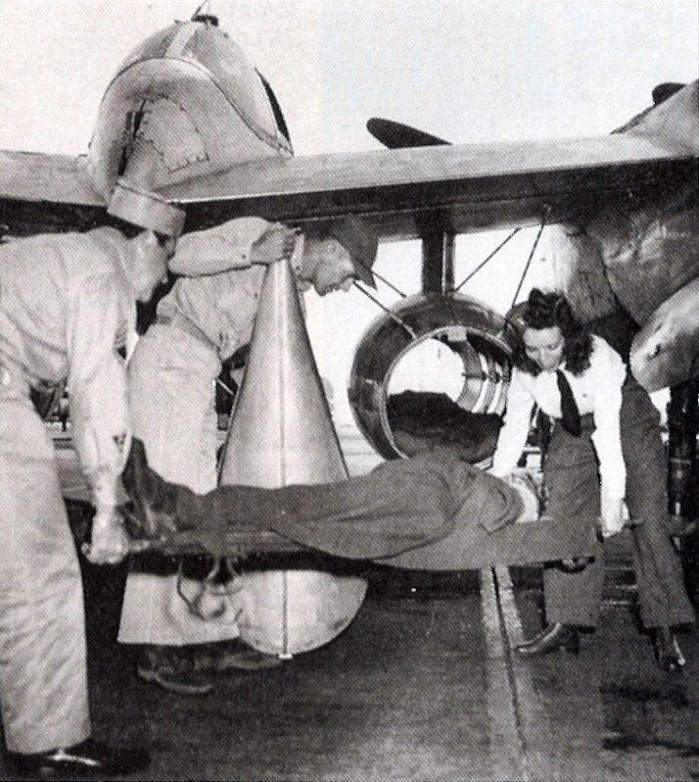 Lockheed p 38 air ambulance 2nd lt beulah farmer