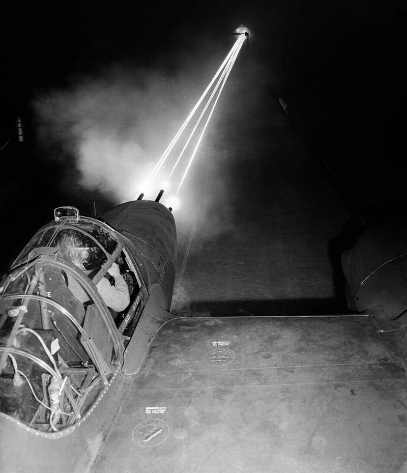 Lockheed p 38 armorer test fired weapons