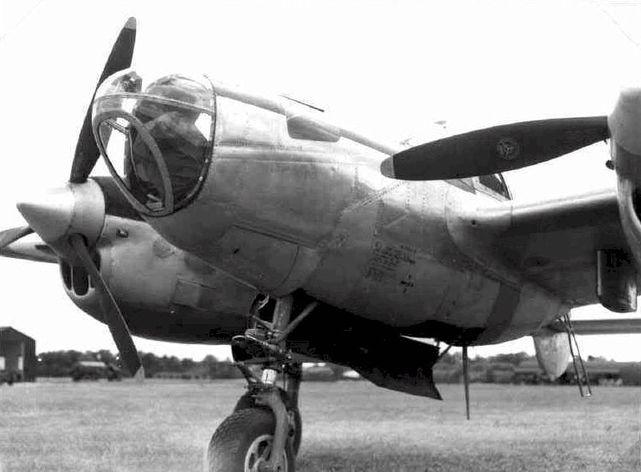 Lockheed p 38 droop snoot 1