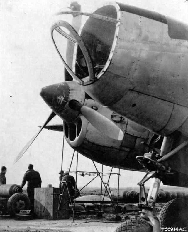 Lockheed p 38 droop snoot 9th air force