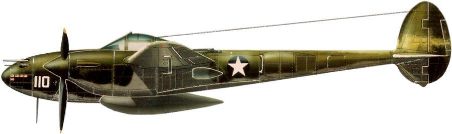 Lockheed p 38 f lightning 339 fs 347 fg thomas lamphier