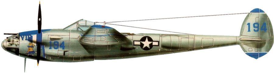 Lockheed p 38 f lightning 433 fs 475 fg carroll robert anderson