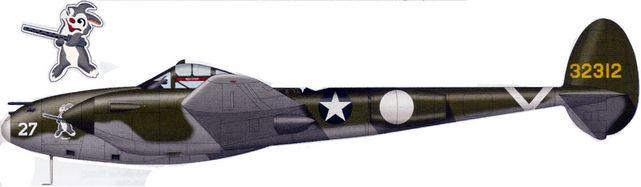 Lockheed p 38 g pa tilley